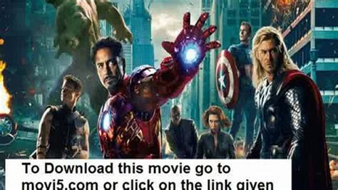Watch The Avengers 2012 Movie Part 2 In HD - video dailymotion