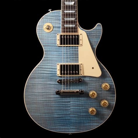 2015 Gibson Les Paul Traditional Ocean Blue For Sale