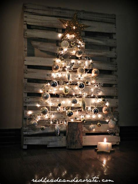 Turn A Wood Pallet Into A Christmas Tree | Home Design