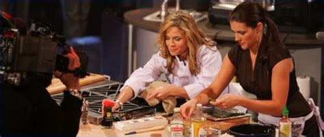Miss USA Chelsea Cooley last 'Celebrity Cooking Showdown