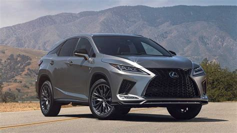 2020 Lexus RX And RXL Break Cover With Facelift And