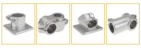 Rohrverbinder Alu – Solid Clamps