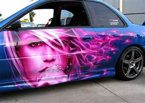 Airbrush 8 - 25 Crazy Airbrushed Art Cars   Complex