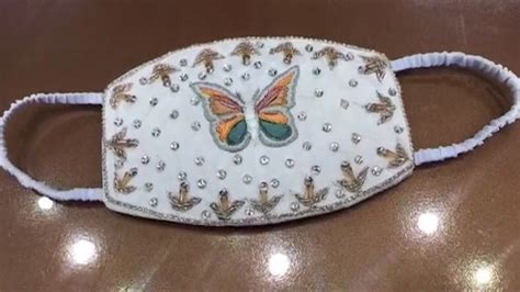 SAMAA - This shop is producing face mask for brides in