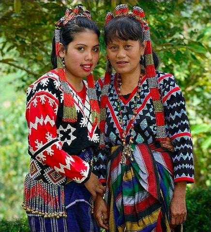 Traditional Clothes of Tboli People in Philippines (mit