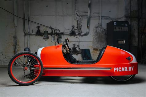 Can't Afford a Morgan? How about This Three-Wheeled