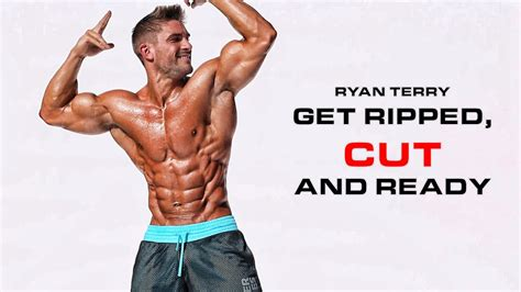 Shredded for competition - Ryan Terry gives his advice