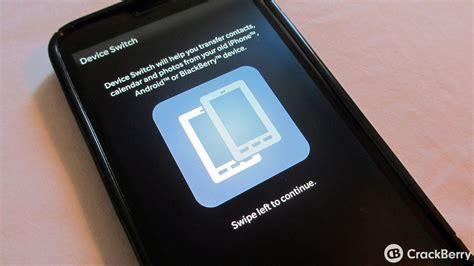 BlackBerry introduces Device Switch app that lets you