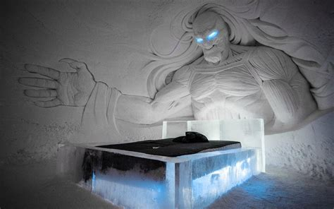 Incredible Game of Thrones ice hotel in Lapland is this