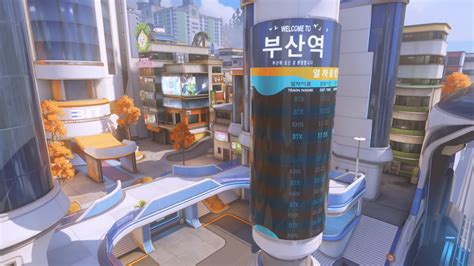 Overwatch's new map is Busan, is live on PTR today | PCGamesN