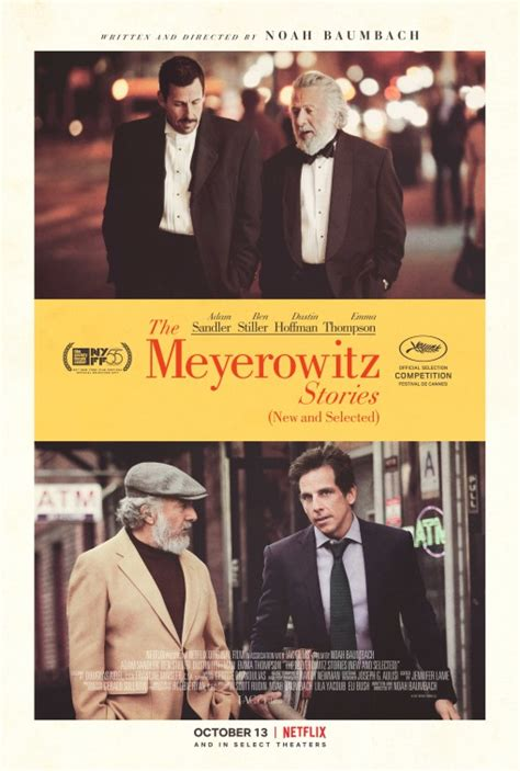 The Meyerowitz Stories (New and Selected) Movie Poster (#1