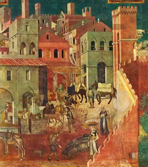 Lorenzetti's Allegory of Good and Bad Government: A
