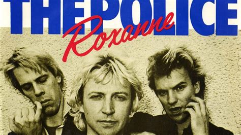 'Roxanne' by The Police sped up every time they sing Roxanne