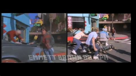 Back to the Future 2 Hoverboard Scene - YouTube