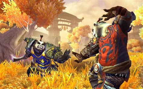 Exclusive screenshots from World of Warcraft: Mists of