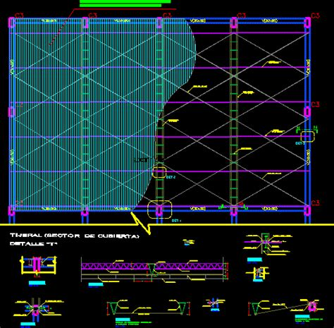Trusses DWG Section for AutoCAD – Designs CAD