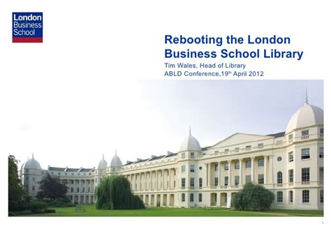 Rebooting the London Business School Library