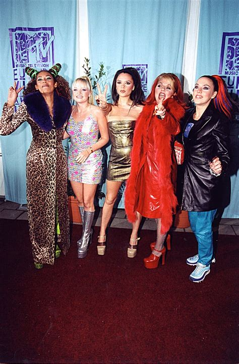 But We'll Always Remember Victoria Doing a Spice Girls