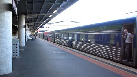 """Australian """"The Overland"""" Melbourne to Adelaide train"""