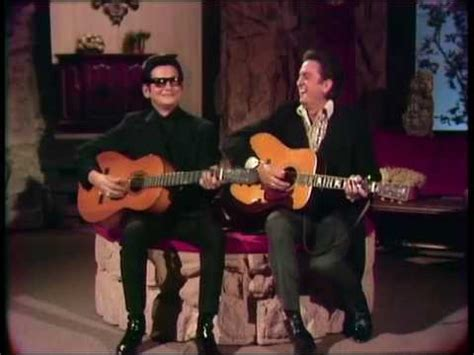 Roy Orbison & Johnny Cash Oh, Pretty Woman Live The Johnny