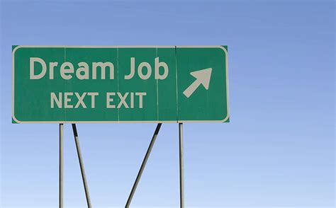 Sell Yourself to Get Your Dream Job