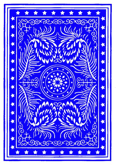 Colorful Poker Card Back | OpenGameArt