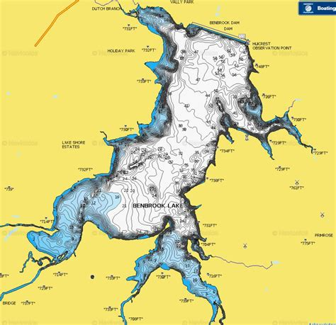 Understanding topographic lake maps for better largemouth
