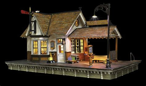 Woodland Scenics N scale - The Depot, Built-&-Ready