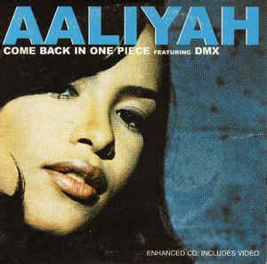 Aaliyah Featuring DMX - Come Back In One Piece (CD, Single