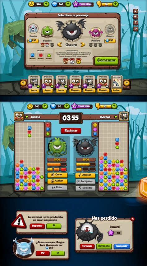 20 UI Design Examples From Mobile Games | Web & Graphic