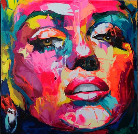 Françoise Nielly (2)M Technique/use of color | Abstrakte