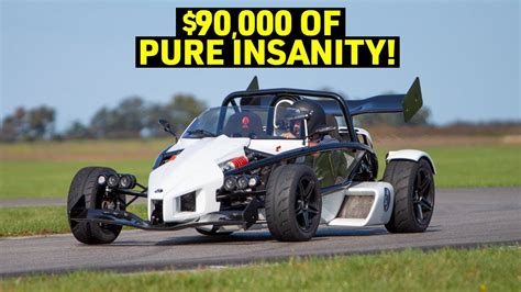 The 365HP ARIEL ATOM 3S Cannot be TAMED! - YouTube