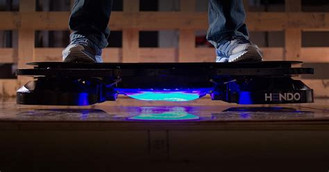 Marty McFly's hoverboard is finally real, thanks to Hendo