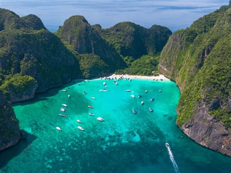 Thailand is closing its iconic bay from 'The Beach