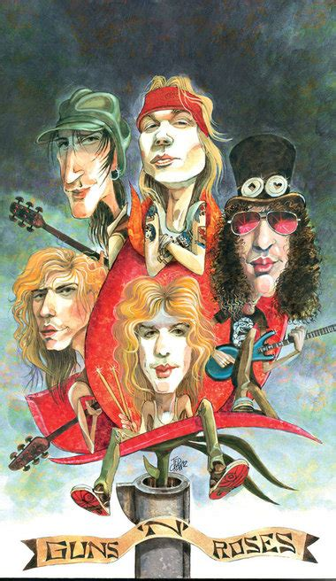 Guns N' Roses: Hard-rock legends with an appetite for