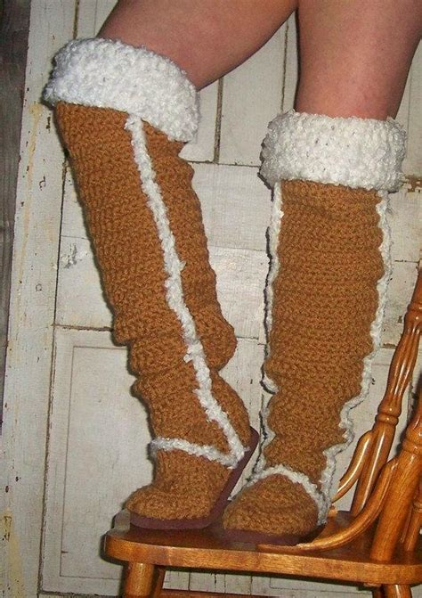 Items similar to Crochet Pattern Boots