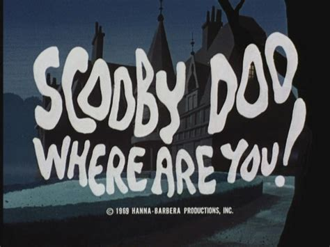 Scooby-Doo, Where Are You! - The Original Intro - Scooby