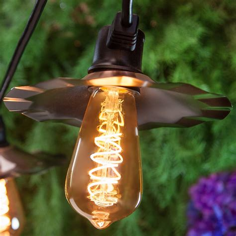 Patio Lights - Warm White LED Patio String Lights, 7 ST64