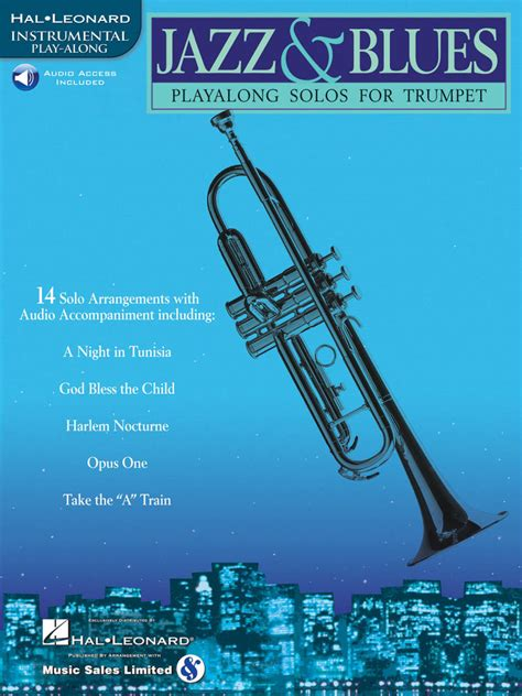 Hal Leonard Jazz & Blues: Play-Along Solos For Trumpet